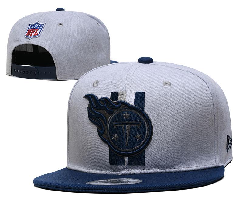Titans Team Logo Gray Adjustable Hat YD