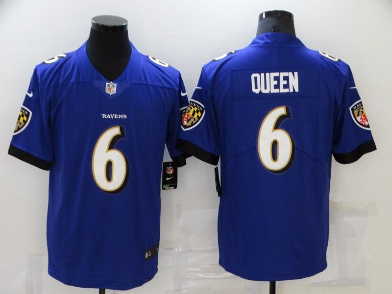 Nike Ravens 6 Patrick Queen Purple Vapor Untouchable Limited Jersey