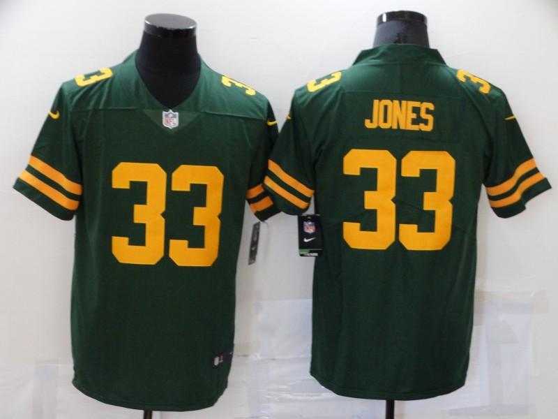 Nike Packers 33 Aaron Jones Green New Vapor Untouchable Limited Jersey