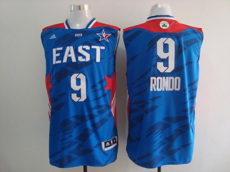 2013 All Star East 9 Rondo Blue Jerseys