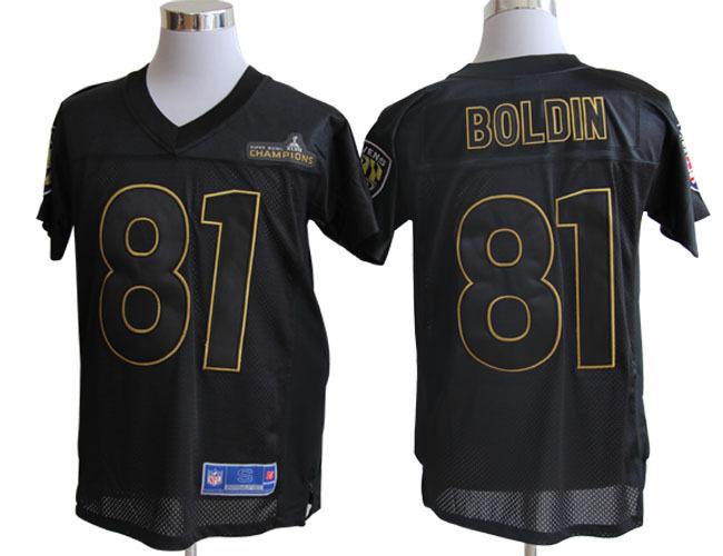 Baltimore Ravens Pro Line 81 Boldin Super Bowl XLVII Champions Jerseys