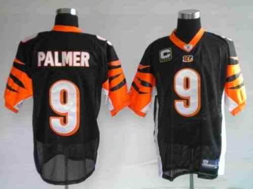 Bengals 9 Carson Palmer Black Jerseys