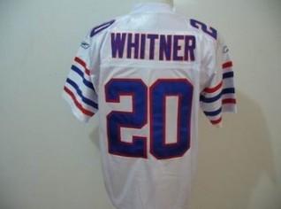 Bills 20 Donte Whitner All White Jerseys