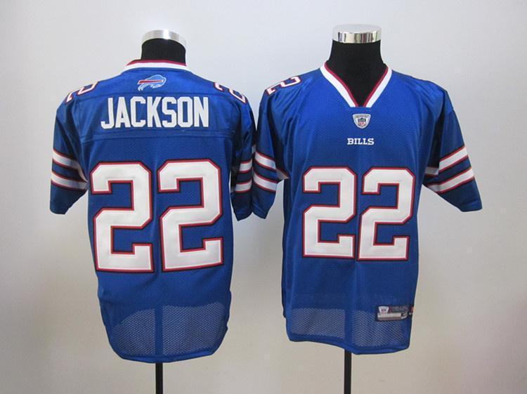 Bills 22 Jackson 2011 Light Blue Jerseys