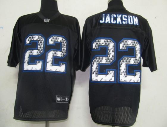 Bills 22 Jackson Black United Sideline Jerseys