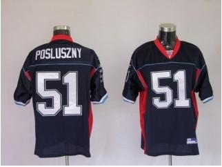 Bills 51 Paul Posluszny Dark Blue Jerseys