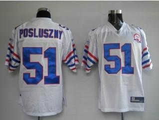 Bills 51 Paul Posluszny White AFL 50th Anniversary Jerseys
