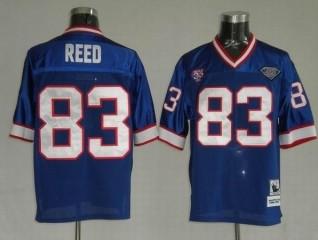 Bills 83 Andre Reed Light Blue Throwback Jerseys