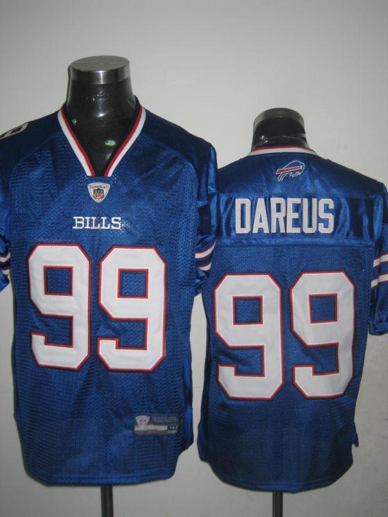Bills 99 Dareus 2011 Light Blue Jerseys