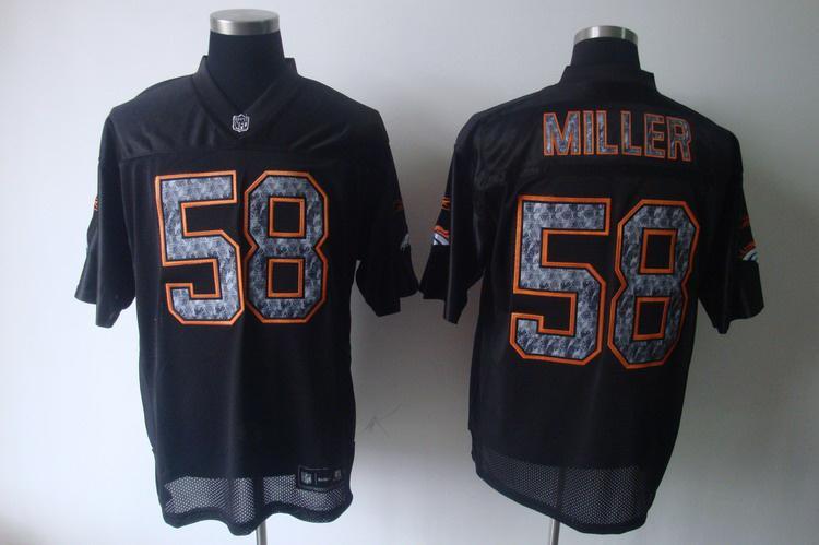 Broncos 58 Miller Black United Sideline Jerseys