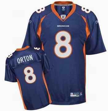 Broncos 8 Kyle Orton navy jerseys
