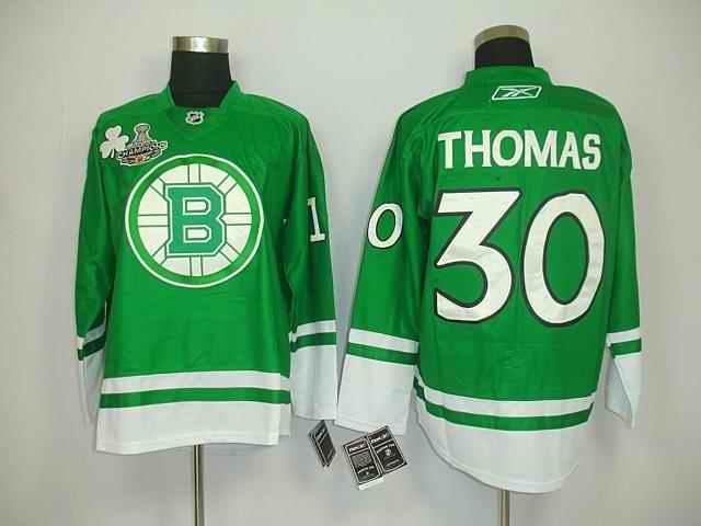Bruin 30 Thomas Green Champions Jerseys