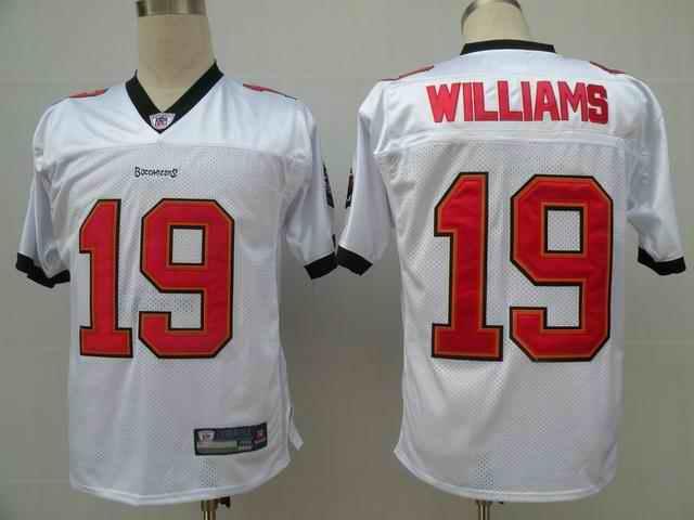 Buccaneers 19 Williams white Jerseys