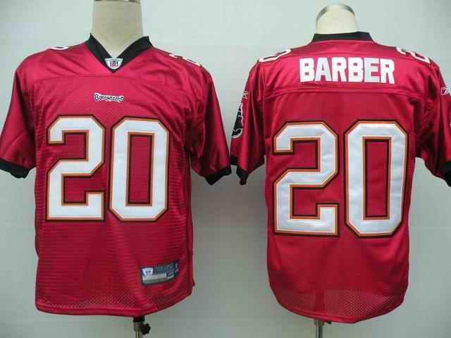 Buccaneers 20 Ronde Barber red Jerseys
