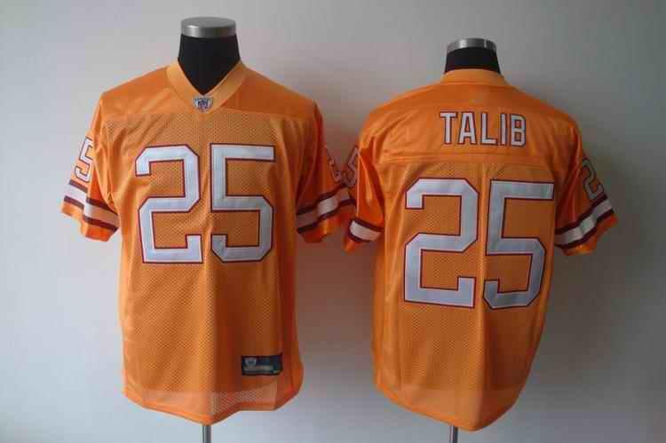 Buccaneers 25 Talib Orange Jerseys