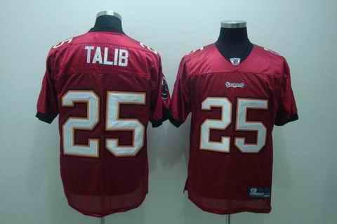 Buccaneers 25 Talib red Jerseys