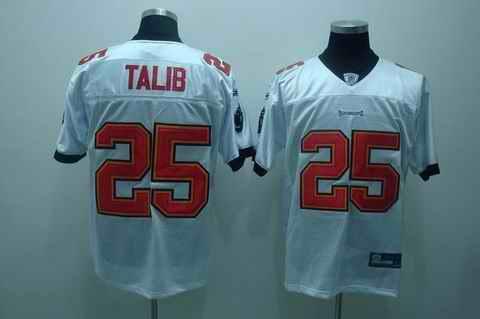 Buccaneers 25 Talib white Jerseys