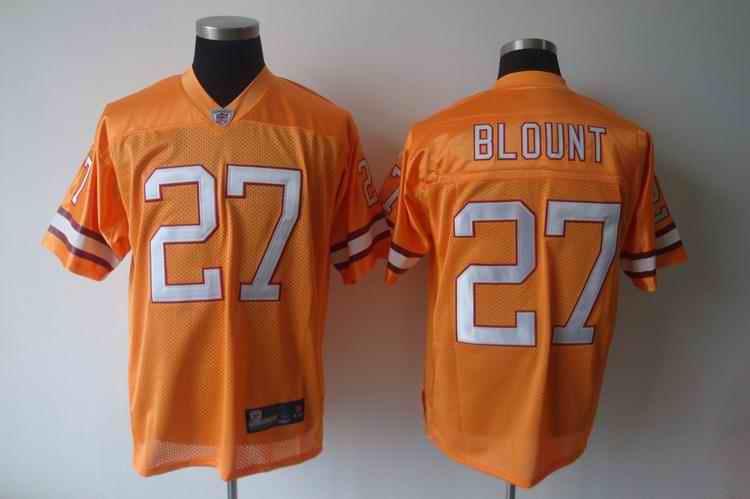 Buccaneers 27 Blount orange Jerseys
