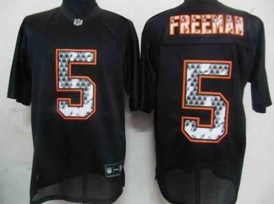 Buccaneers 5 Freeman black united sideline Jerseys