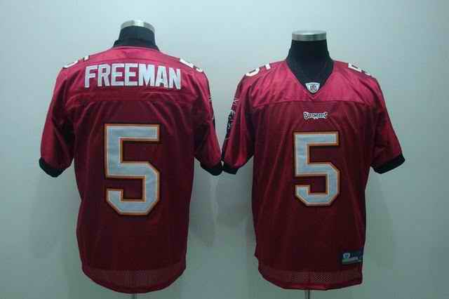 Buccaneers 5 Freeman red Jerseys