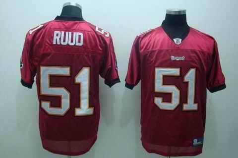 Buccaneers 51 Ruud red Jerseys