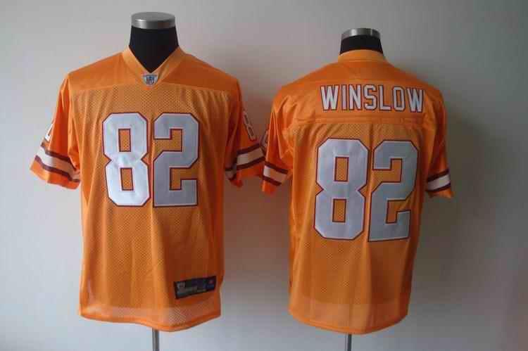 Buccaneers 82 Winslow orange Jerseys
