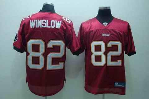 Buccaneers 82 Winslow red Jerseys