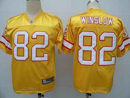 Buccaneers 82 Winslow yellow Jerseys