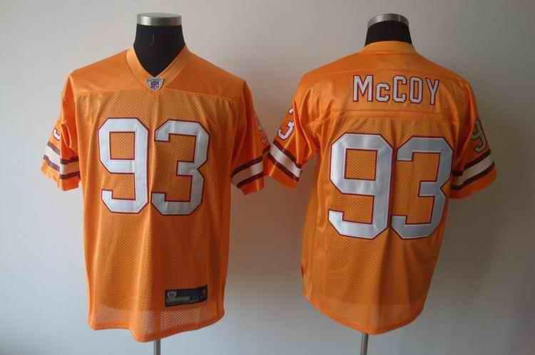 Buccaneers 93 McCoy orange Jerseys