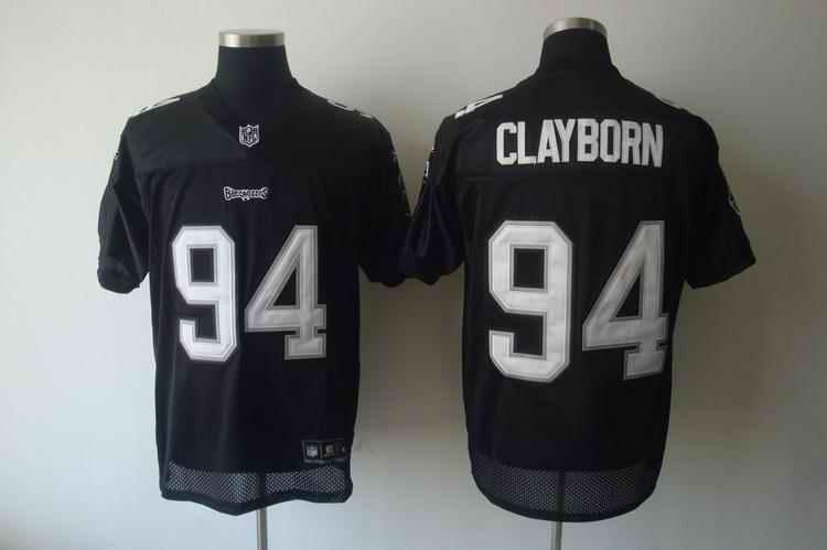 Buccaneers 94 Clayborn 2011 black Jerseys