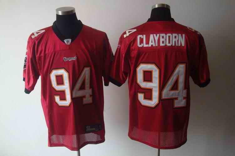 Buccaneers 94 Clayborn red Jerseys
