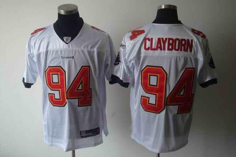 Buccaneers 94 Clayborn white Jerseys