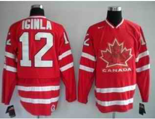 Canada 12 IGINLA Red Jerseys