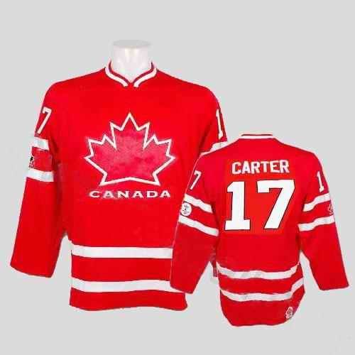 Canada 17 Carter Red Jerseys