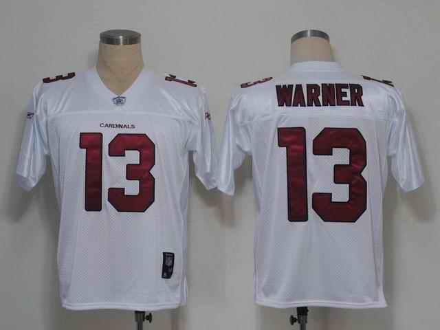 Cardinals 13 Warner white 2011 Jerseys