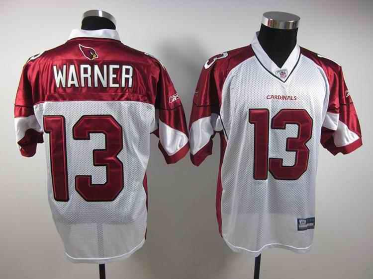 Cardinals 13 Warner white Jerseys