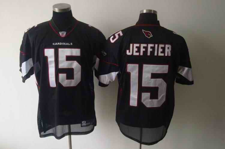 Cardinals 15 Jeffier black Jerseys