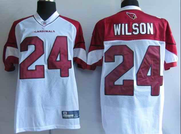 Cardinals 24 Wilson white jerseys