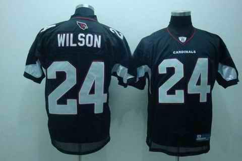 Cardinals 24 wilson black jerseys