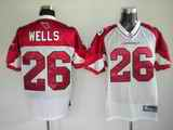 Cardinals 26 Beanie Wells White Jerseys