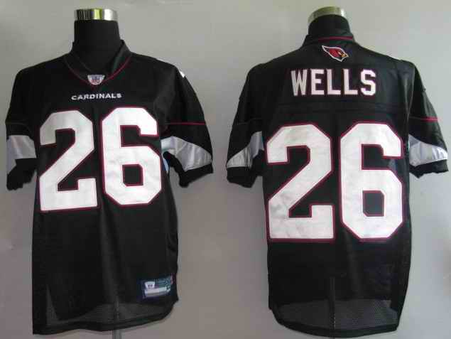 Cardinals 26 Wells Black Jerseys