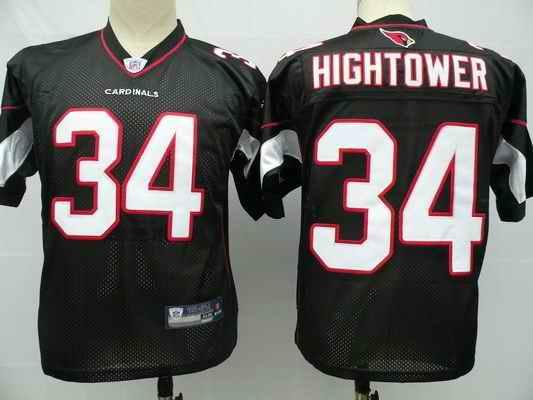 Cardinals 34 Hightower black jersey