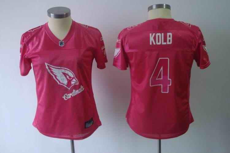 Cardinals 4 Kolb pink 2011 fem fan women Jerseys
