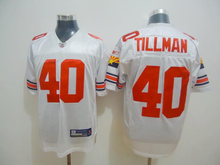 Cardinals 40 Tillman White Jerseys