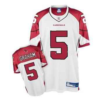 Cardinals 5 Ben Graham White Jerseys
