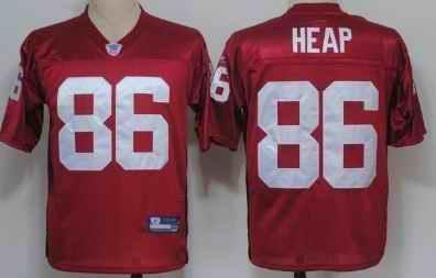 Cardinals 86 Todd Heap Full red Jersey