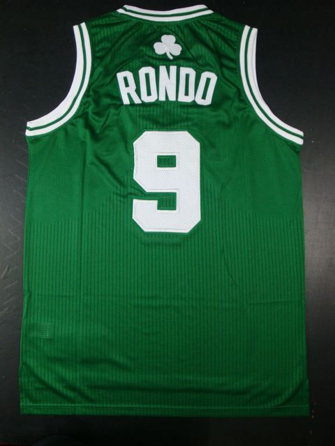 Celtics 9 Rondo Green AAA Jerseys