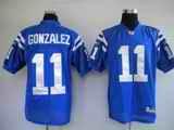 Colts 11 Gonzalez Blue Jerseys
