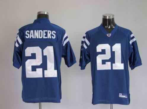 Colts 21 Bob Sanders Blue Jerseys