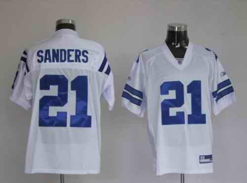 Colts 21 Bob Sanders White Jerseys